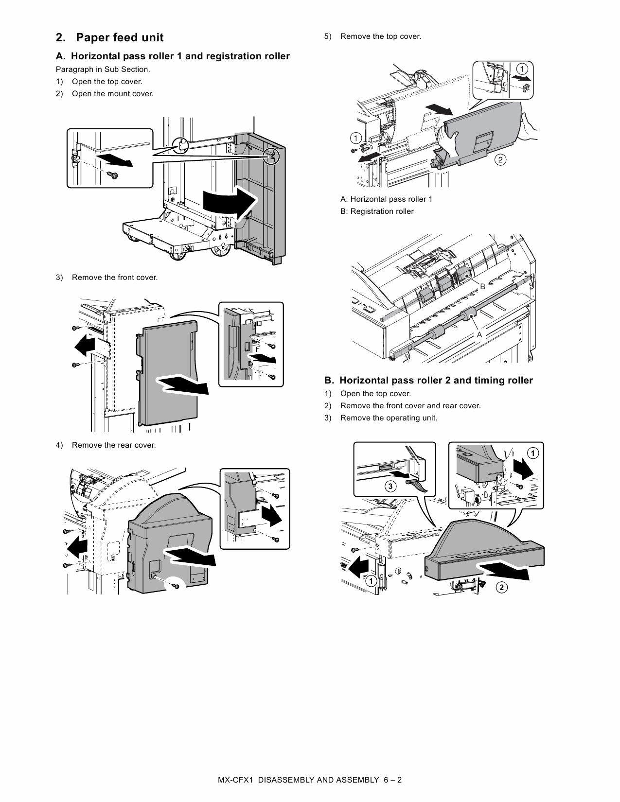 SHARP MX CFX1 Service Manual